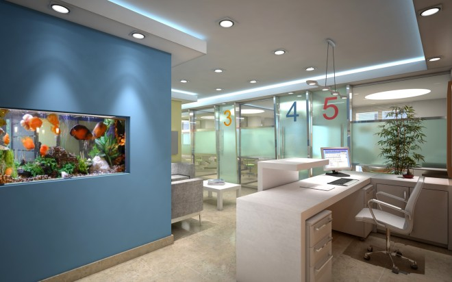 Artchamarelii interior design studio interiorismo - Decoracion de clinicas dentales ...